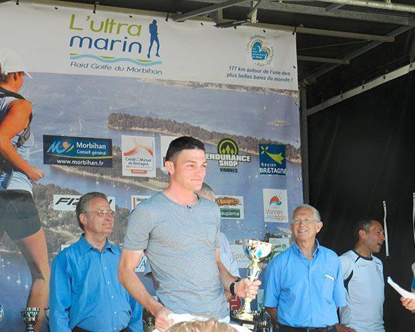 Vainqueur 177 km Ultra Marin